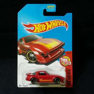 Hot Wheels Mazda RX-7 Savannah Kmart Kday. NOT STH Datsun 510, 620 Truck, Skyline R34 or Honda Civic EF