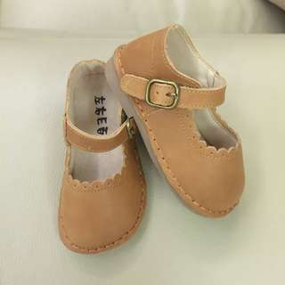 Vintage Kids Shoe CNY Shoe Brown