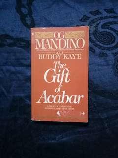 The Gift of Acabar by Og Mandino and Buddy Kaye
