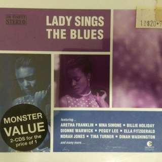 arthcd VARIOUS The Lady Sings The Blues 2CD (Brand New Sealed) Jazz Female Vocals