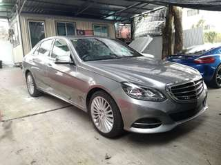 Full Loan 2014 Mercedes Benz E200 UK Spec