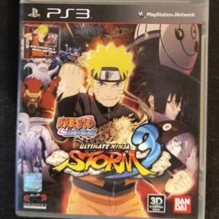PS3 Naruto Ultimate Ninja Storm 3