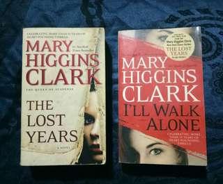 Mary Higgins Clark book bundle