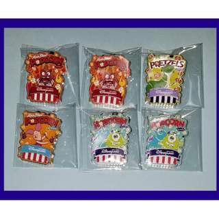 Disney POPCORN PRETZELS Pin 爆谷 盒裝 迪士尼 徽章
