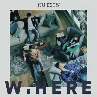 NU'EST W W.HERE ALBUM