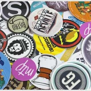 Customised stickers