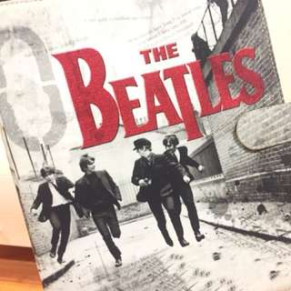 The Beatles Binder Cover