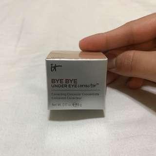 Bye bye under eye corrector