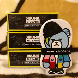 日本直送🇯🇵Toreba景品「KRUNKxBIGBANG-GD LUNCH BOX」
