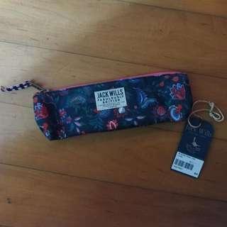 Jack Wills 筆袋 化妝袋 禮物盒 Jack Wills Galsfold Pencil Case Floral