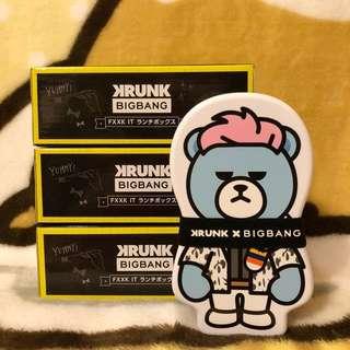 日本直送🇯🇵Toreba景品「KRUNKxBIGBANG-TOP LUNCH BOX」