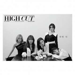 RED VELVET HIGH CUT MAGAZINE 2018