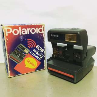 Polaroid Camera made in uk