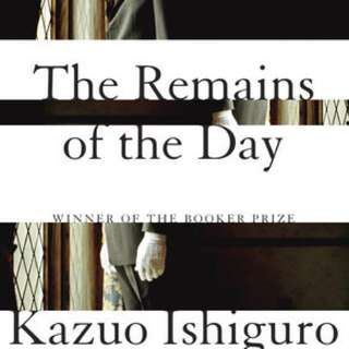 Books by Kazuo Ishiguro, Winner of the Nobel Prize in Literature 2017