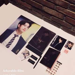 Take A Bow Season Greetings 2018 - GOT7 Jinyoung - Adorable Film