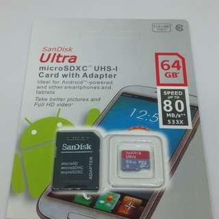 64GB card