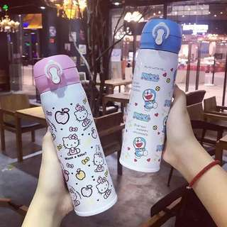 Hello Kitty stainless steel vacuum bottle