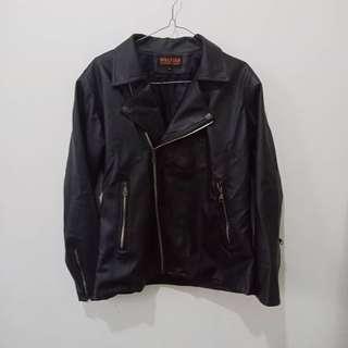 REPRICE jaket kulit size L