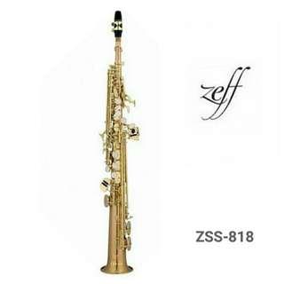 ZEFF SOPRANO SAXOPHONE (France) Professional Style ZSS-818