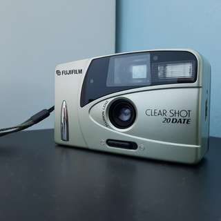 Fujifilm clear shot 20 date