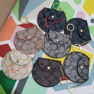Authentic overruns wristlets and coin purse