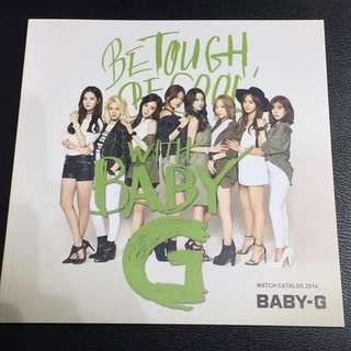 韓國少女時代 Girl Generation X BABY-G 書