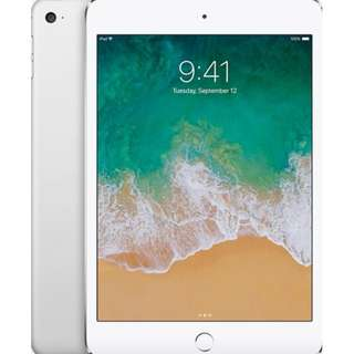 Unlocked Apple iPad Mini 4 LTE (Sealed Box)