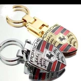 Porsche Keychain