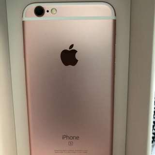 Rose gold iPhone 6s unlocked 64 GB