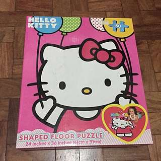 Brand New Hello Kitty Floor Puzzle