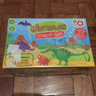 Brand New Dino Stamp Set