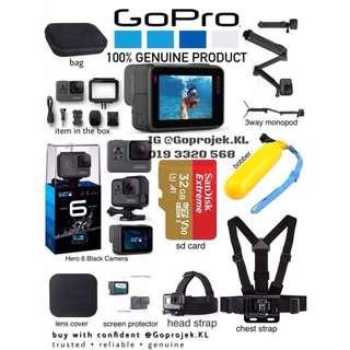 GOPRO HERO 6 BLACK - GOPRO KL