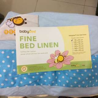 BABYBEE Fine Bed Linen Blue