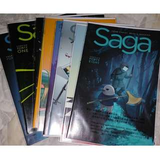 Saga by Brian K Vaughan & Fiona Staples Single Issues - Image Comics