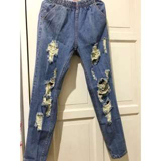 Semi boyfie jeans