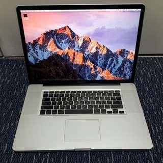"NEW Battery 17"" Macbook Pro i7 Rare last model"