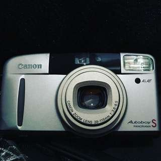Canon Autoboy S Panorama 35mm Camera