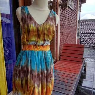 Dress pantai colorful