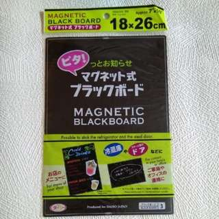 Magnetic Black Board 磁石黑板
