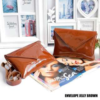 Envelope Jelly Brown