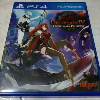 PS4 - Deception IV: The Nightmare Princess