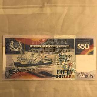Ship old note $50
