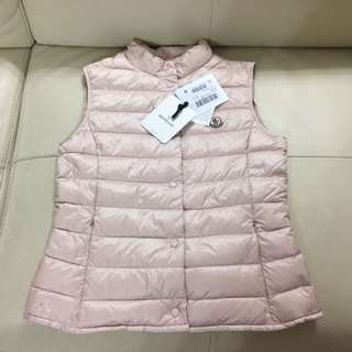 Year 14 全新Moncler vest baby pink