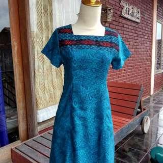 Biru batik modern