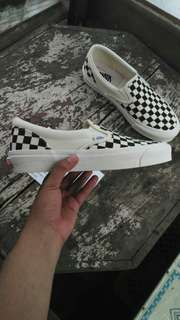 Vans Vault OG Slip on CHECKERBOARD vans old skool Black White