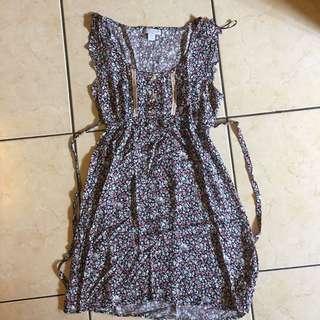 Mini DRESS - flower Cotton on