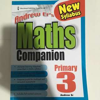 Brand New: P3 Maths Companion (by Andrew Er)