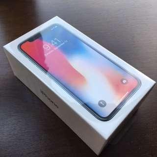 Apple iPhone X 256GB Unlocked in Box