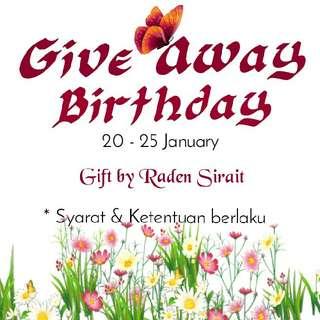 Gift Baju By Raden Sirait