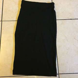 Midi Skirt - black H&M